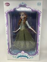 """DISNEY STORE LIMITED EDITION DOLL ANNA 17"""" LE 1802/5000 FROZEN GREEN DRESS NEW"""