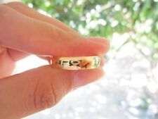 Yellow Gold Mens Wedding Ring 18k codeWR45 sepvergara