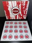 20x Cox 049 Stickers
