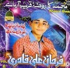 MOHD . FARHAN ALI QADRI - MAAN BAAP - NEW NAATS  CD VOL 6 - FREE UK POST