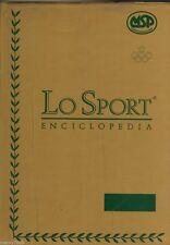 LO SPORT ENCICLOPEDIA=VOLUME I°+ANNUARIO=CALCIO-BASKET-TENNIS-BOXE-CANOTTAGGIO