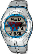 Casio e-Data Bank Stainless Steel Men's Watch EDB-110D-1V
