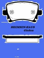 Bremsbeläge hinten VW Passat Limousine + Kombi  Bj 05-07   75kW-220kW
