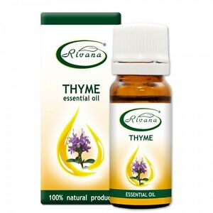 100% Natural PURE ESSENTIAL OIL / Thyme - Thymus vulgaris 10ml BUY 3 GET 1 FREE