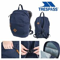Trespass Men Women Backpack Canvas Work School Travel Rucksack 25L Braer