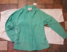 women's clothing lot outfit size 12 14 pants, lg NWOT Bloomingdales blouse, 3pc