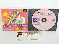 PS1 MAGICAL HOPPERS with SPINE * PS Playstation Japan Game p1