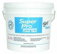 "Betts Super Pro Bait Cast Net 12' Clear 1Lb Per Foot 1/2"" Mesh"