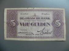 De Javasche Bank 5 Gulden 1930