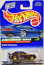 HOT WHEELS 1999 MERCEDES C-CLASS X-RAY CRUISER SERIES PURPLE