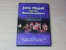 John Mayall & The Bluesbreakers/Jammin with the Blues Greats/2004 DVD + Ticket