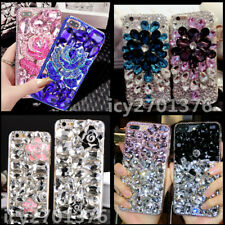 3D Crystal Bling Glitter Diamonds Soft Gel TPU back Phone Cover Cases For Huawei