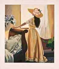 """Susan Rios - """"Above the Garden"""", hand-signed serigraph on paper"""