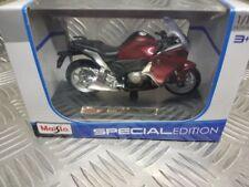 Motocicletas y quads de automodelismo y aeromodelismo hondos color principal azul de escala 1:18