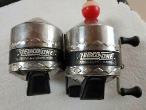 Two Zebco #1 Reels, All Steel Gears