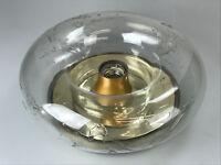 60er 70er Jahre Doria Flush Mount Wandlampe Plafoniere Deckenlampe Space Age 60s
