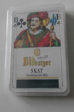 Bitburger Beer - deck of SKAT cards - sealed