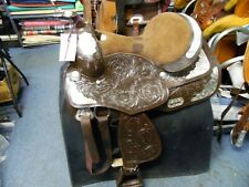 Western Show Saddle Set 15""