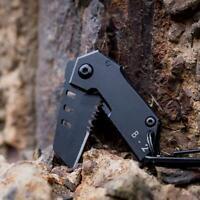 1x Bomber Nano Utility Multi Pocket Knife Mini Keychain Tactical Folding