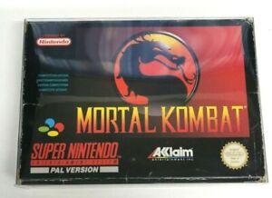 Mortal Kombat Nintendo SNES Boxed