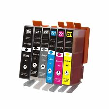 6Pk PGI270XL CLI271XL Ink Cartridge For Canon PIXMA MG5720 MG5721 MG5722 MG6820