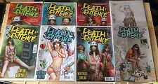 DEATH SENTENCE 1,2,3,4,5,6 & DEATH SENTENCE LONDON 1,2,3 TITAN COMICS 1ST PRINTS