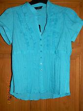Business Short Sleeve V Neck Polyester Women's Tops & Shirts