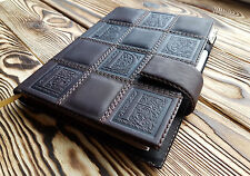 Leather Planner A5 Adventure Journal Matted Leather Souvenir Travel Notebook