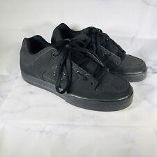 DC Pure Skateboarding Shoes Black Pirate Men's Size 9.5