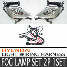 Fog Lamp Light Wiring Harness Complete Kit Fit 2011 2012 Hyundai Elantra OEM