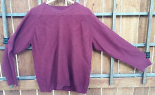 Tehama Sweater-Merino/Silk/Cashmere Blend-XXL-Dark Red-Diamond