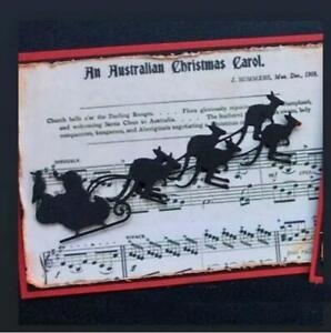 Metal Cutting Dies Christmas sleigh Crafts Stencil Scrapbooking Cards Embossing