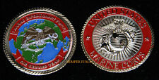 1ST MEF 1ST MARINE EXPEDITIONARY FORCE CHALLENGE COIN FSSG MAW VMA VMFA VMGR