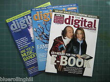 TIME digital - Supplement to Time Magazine - 3 Issues Oct-Dec 2000
