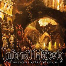 INFERNAL MAJESTY - Nigrescent Years of Chaos CD