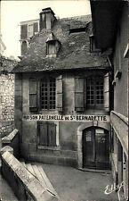 Lourdes Frankreich France AK ~1940 Maison Paternelle Bernadette Gebäude Building