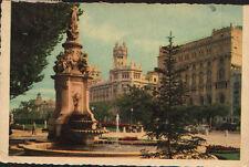 ANTIGUA POSTAL MADRID CORREOS DESDE EL PRADO OLD POSTCARD POSTKARTE      CC01605