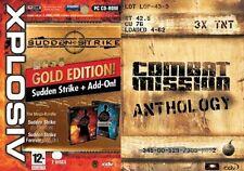 combat mission anthology & sudden strike gold