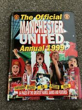 Official Manchester United Annual 1999 (Hardback)