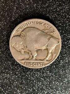 1918-S San Francisco Mint Buffalo Nickel Ch FINE