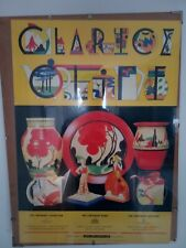 More details for original clarice cliff advertisement poster