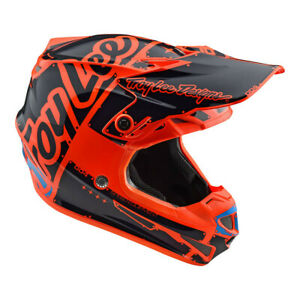 New Troy Lee Designs SE4 Factory Orange Youth Large MX Helmet TLD Motocross KTM