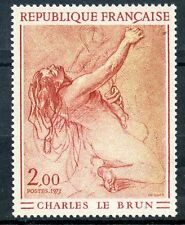 STAMP / TIMBRE FRANCE NEUF LUXE N° 1742 ** TABLEAU ART / CHARLES LE BRUN