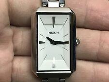 NIXON Bent The PADDINGTON White Stainless Steel Quartz Women's Watch A284 100