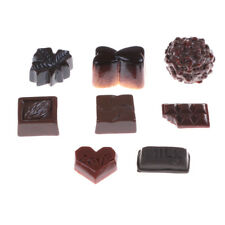 8Pcs/Set Chocolates Miniature Food Models Dollhouse Accessories  RU
