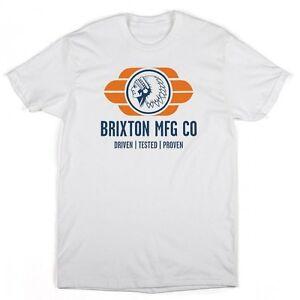 New Brixton Nassau Short Sleeve Standard White T-Shirt