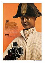 1967 Olde Parchment Enro Shirts Louisville camera vintage photo print ad ads80