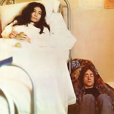 John Lennon/Yoko Ono Unfinished 2 Life With Lions WHITE VINYL LP Record beatles!