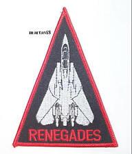 US.Navy F-14 Tomcat `VF-24 RENEGADES` Cloth Badge / Patch (F14-25)