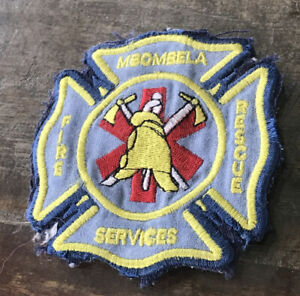 Mbombela, South Africa Fire Rescue Service Patch VERY HARD TO FIND